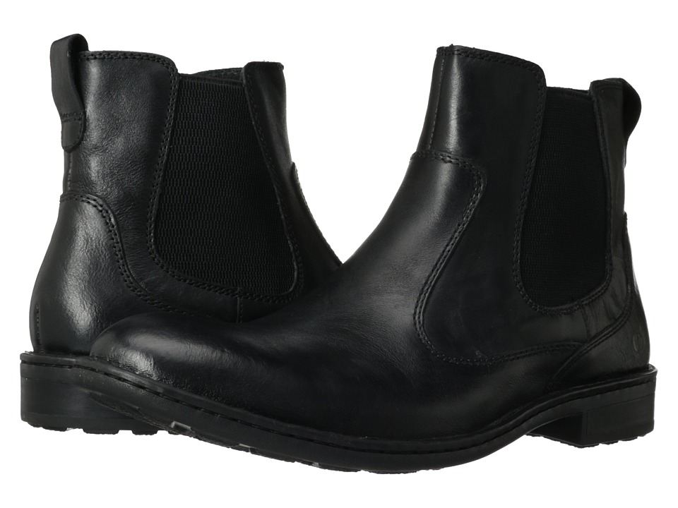 Born - Mac (Black Full Grain) Men's Boots