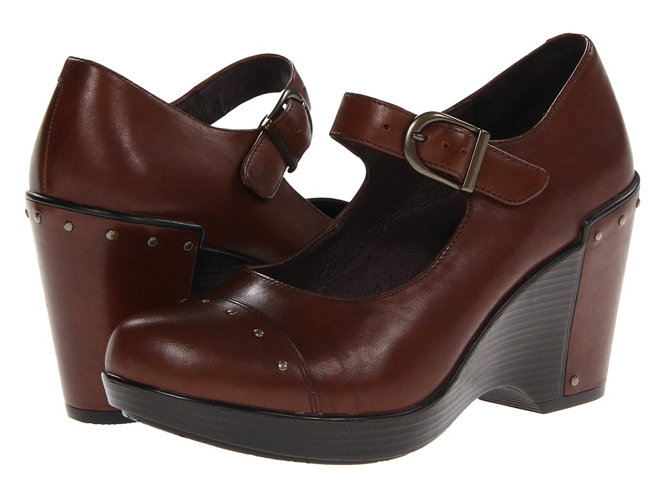 Dansko Fanny (Brandy Antique Full Grain) Women