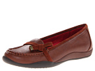 VIONIC with Orthaheel Technology Mae Bow Flat (Brown)