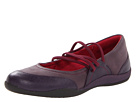VIONIC with Orthaheel Technology Melanie Elastic Flat (Purple)