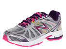 New Balance Kids KJ880V3 (Little Kid/Big Kid) (Silver/Purple)