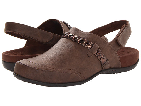 VIONIC with Orthaheel Technology - Kerstin Mule (Chocolate) Women