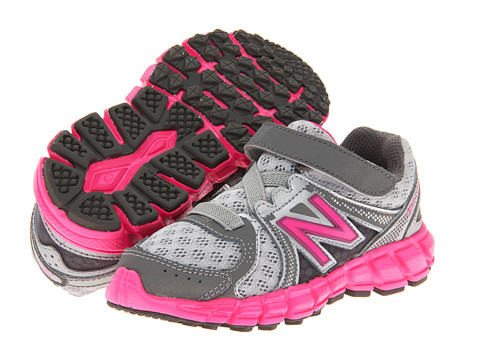 New Balance Kids - KV750V2 (Infant/Toddler) (Silver/Pink) Girls Shoes