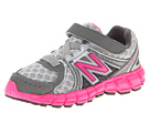 New Balance Kids KV750V2 (Infant/Toddler) (Silver/Pink)