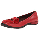VIONIC with Orthaheel Technology Venice Casual Flat (Red)