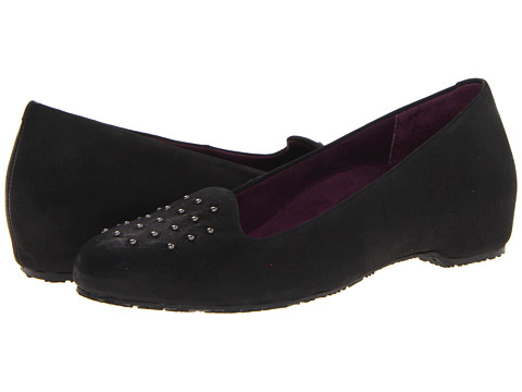 VIONIC with Orthaheel Technology - Chelsea Casual Flat (Black) Women's Shoes