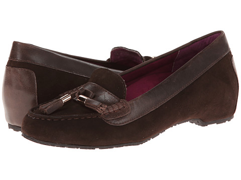 VIONIC with Orthaheel Technology - Florence Tassel Flat (Espresso) Women