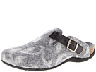 VIONIC with Orthaheel Technology Flores Textile Mule (Grey)