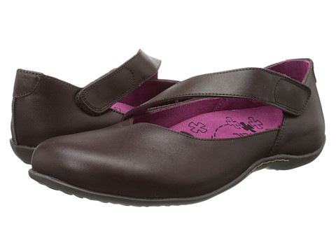 VIONIC with Orthaheel Technology - Seville Flat (Chocolate) Women