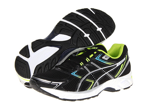 ASICS - GEL-Equation 7 (Black/Titanium/Lime) Men's Running Shoes