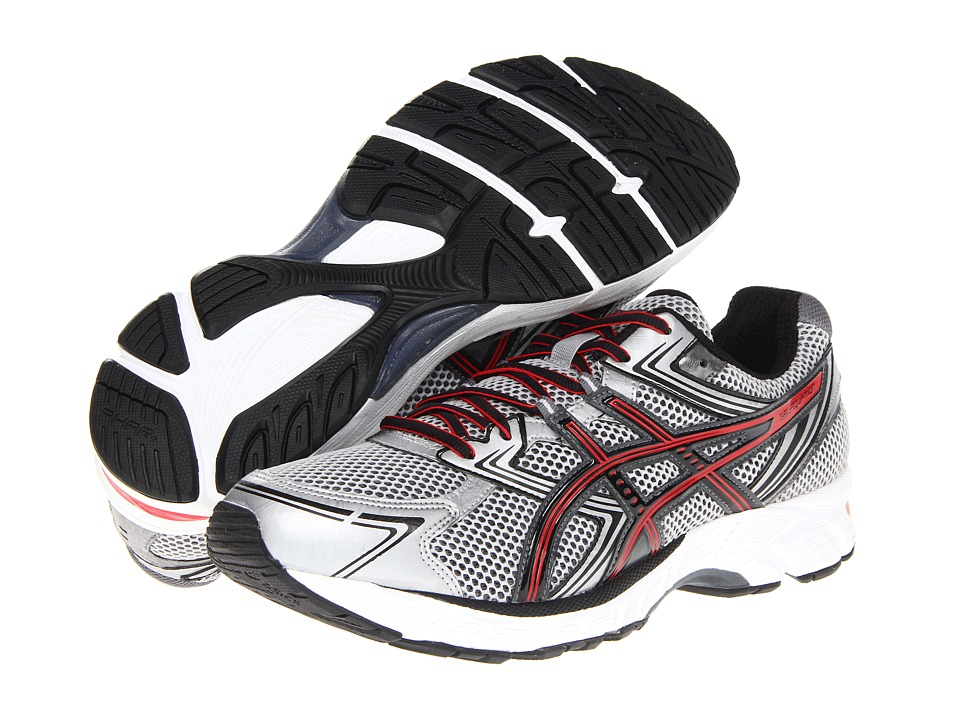 ASICS - GEL-Equation 7 (Lightning/Onyx/Red) Men's Running Shoes