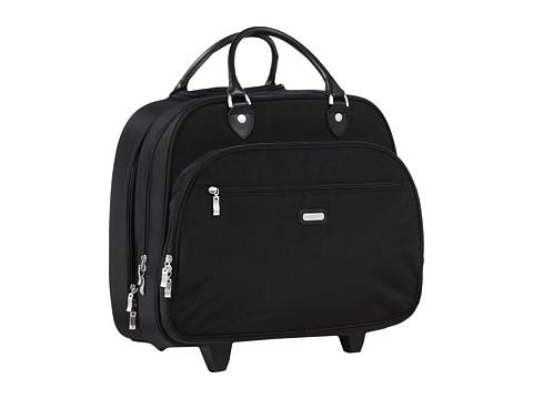 Baggallini - Rolling Tote (Black/Black) Weekender/Overnight Luggage