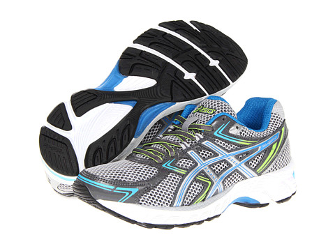 ASICS - GEL-Equation 7 (Titanium/Lightning/Brilliant Blue) Women's Running Shoes