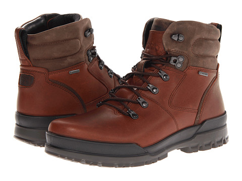 ECCO - Track 6 Boots 2 (Bison/Birch) Men's Lace-up Boots