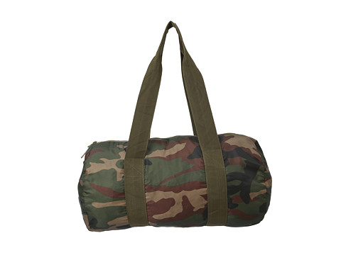 Herschel Supply Co. - Packable Duffle Bag (Woodland Camo) Duffel Bags