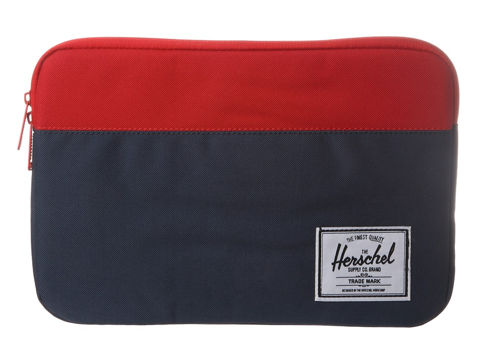 Herschel Supply Co. - Anchor Sleeve 11 (Navy/Red) Computer Bags