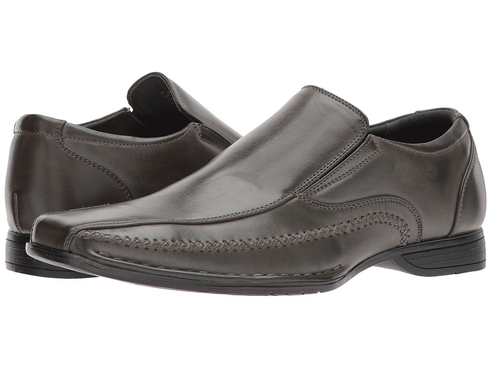 Steve Madden - Trace (Grey) Men's Slip on Shoes
