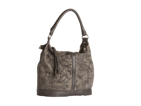 Foley & Corinna - Frame Small Bucket (Mineral Canvas) Shoulder Handbags