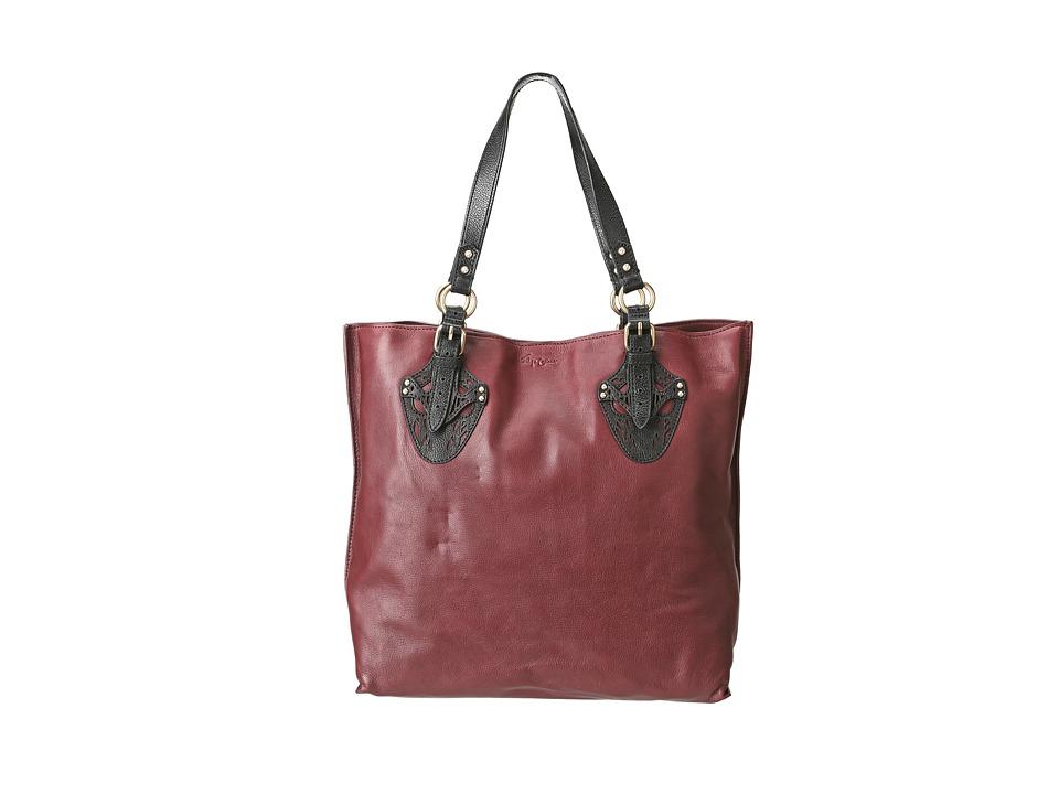 Foley & Corinna - Equestrian Tote (Plum) Tote Handbags