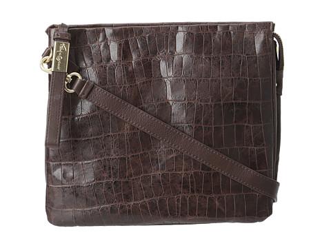 Foley & Corinna Cache for iPad (Brownie Croc) Cross Body Handbags