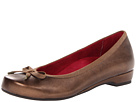 VIONIC with Orthaheel Technology Olivia Casual Flat (Bronze)