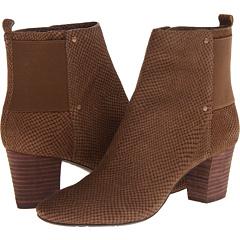 DKNY Malia (Dark Khaki Snake Nubuck) Footwear