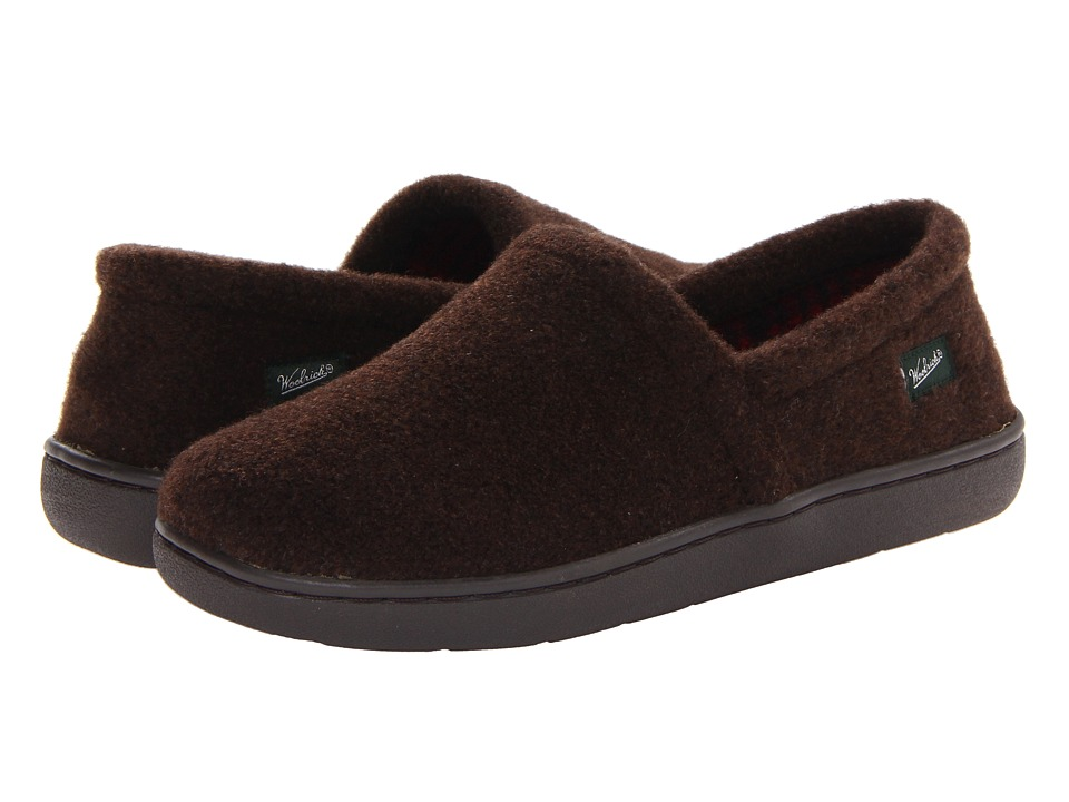 Woolrich - Chatham Run (Chocolate) Men's Slippers