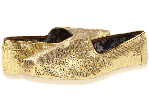 Roper - Metallic Ballerina Shoe (Gold Metallic) Women's Slip on Shoes