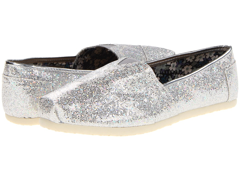 Roper Metallic Ballerina Shoe (Sliver Metallic) Women