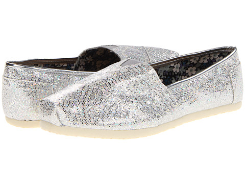 Roper - Metallic Ballerina Shoe (Sliver Metallic) Women