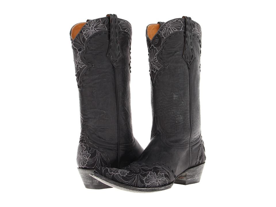 Old Gringo - Erin (Vesuvio Black) Women's Pull-on Boots