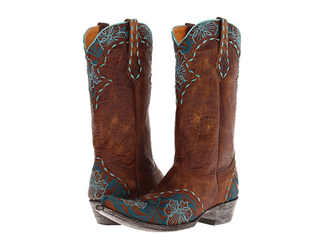 Old Gringo - Erin (Vesuvio Brass/Aqua) Women's Pull-on Boots