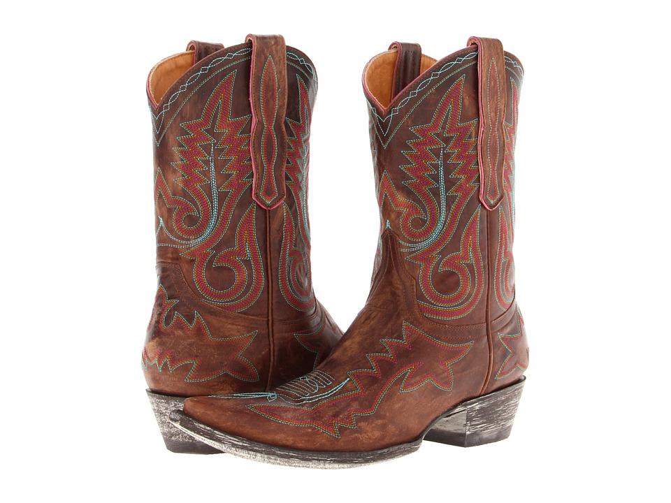 Old Gringo - Nevada R (Vesuvio Brass/Purple) Women's Pull-on Boots