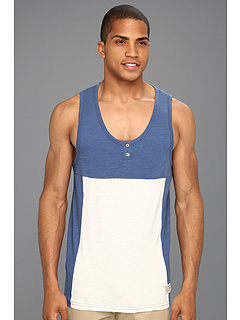 SALE! $14.99 - Save $29 on Lifetime Collective Sculling Slub Tank (French Blue Combo) Apparel - 65.93% OFF $44.00