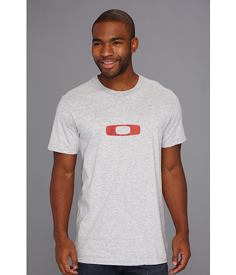 Oakley - Square Me Tee (Heather Grey 1) Men's Short Sleeve Pullover