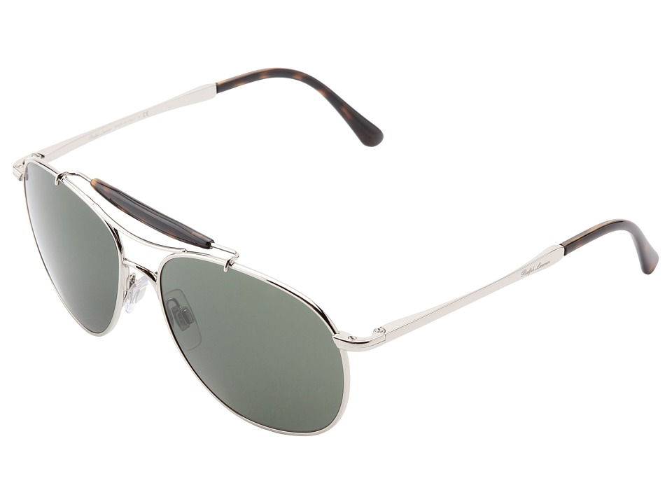 Polo Ralph Lauren - 0PH3078P (Shiny Silver) Fashion Sunglasses