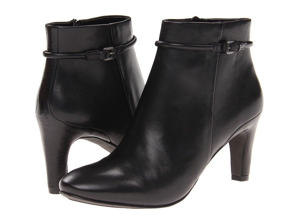 ECCO - Nephi Bootie (Black Leather) Women