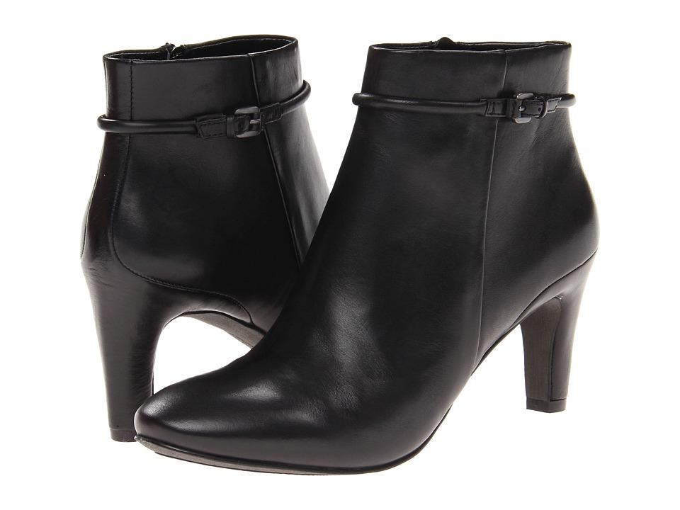 ECCO - Nephi Bootie (Black Leather) Women