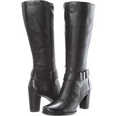 ECCO Pretoria Tall Boot (Black Old West) Footwear