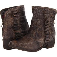 Betsey Johnson Seal (Brown Distressed) Footwear