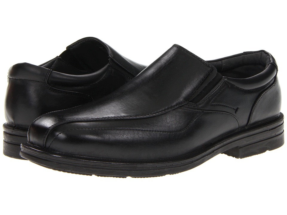 Deer Stags Ted Mens Slip on Shoes (Black)