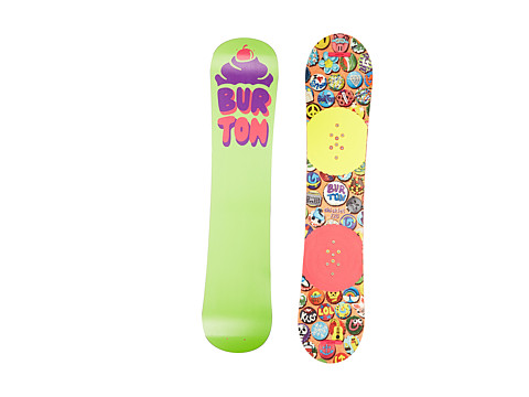 Burton - Chicklet (125cm) (N/A) Snowboards Sports Equipment