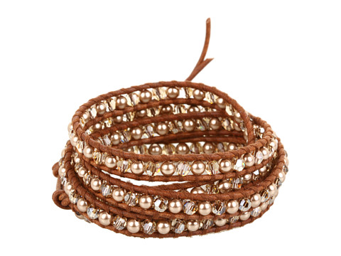 Chan Luu - BS-3181 (Bronze Pearl/Natural Brown) Bracelet