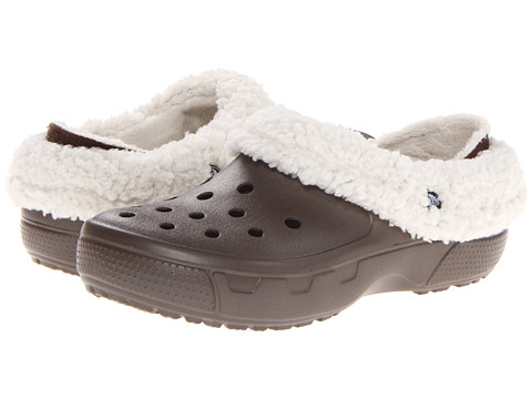 Crocs - Mammoth Core Full Collar (Pewter/Oatmeal) Clog Shoes