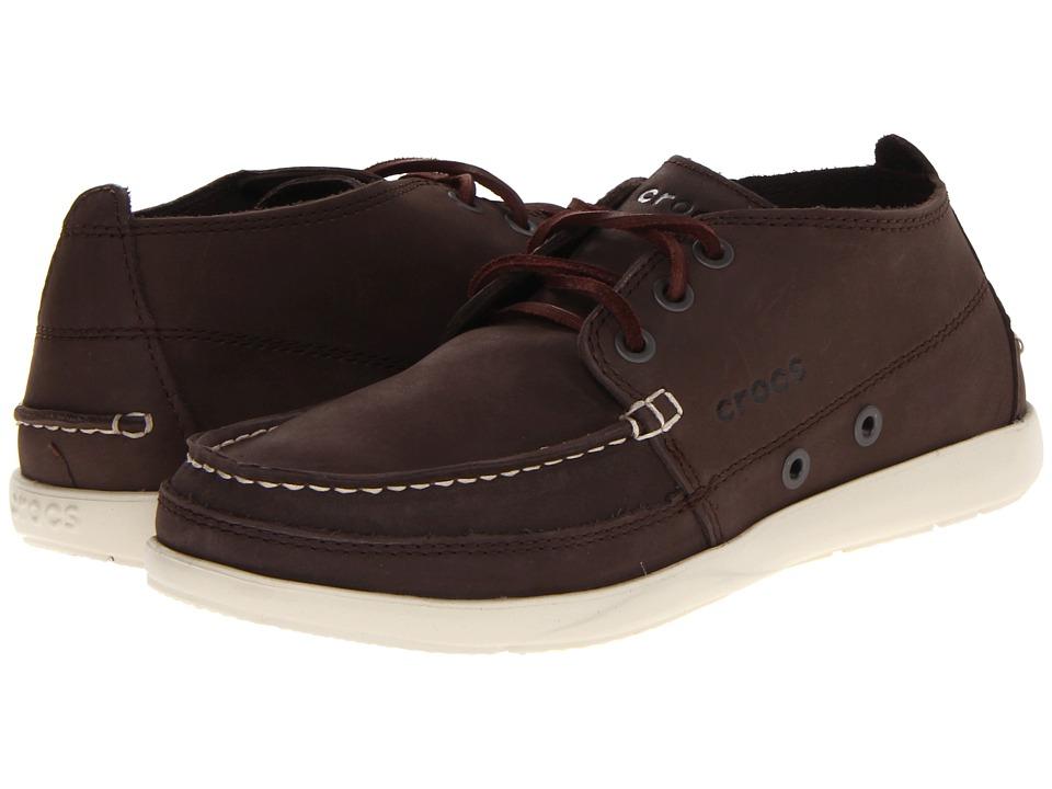 Crocs - Walu Chukka (Espresso/Stucco) Men's Boots