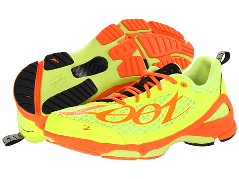 Zoot Sports - TT Trainer 2.0 (Safety Yellow/Blaze/Black) Men's Running Shoes