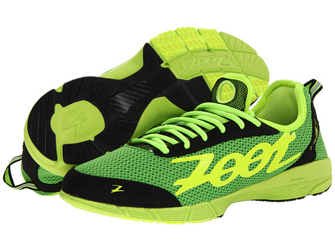 Zoot Sports - Ultra Kiawe 2.0 (Green Flash/Safety Yellow/Black) Men's Running Shoes