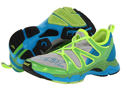 Zoot Sports - Ultra Kane 3.0 (Grey/Green Flash/Atomic Blue) Women