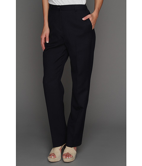 Pendleton - Worsted Wool True Fit Trouser (Midnight Navy Worsted) Women's Dress Pants
