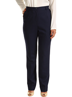 SALE! $90.19 - Save $58 on Pendleton Petite Worsted Wool True Fit Trouser (Midnight Navy Worsted) Apparel - 39.06% OFF $148.00